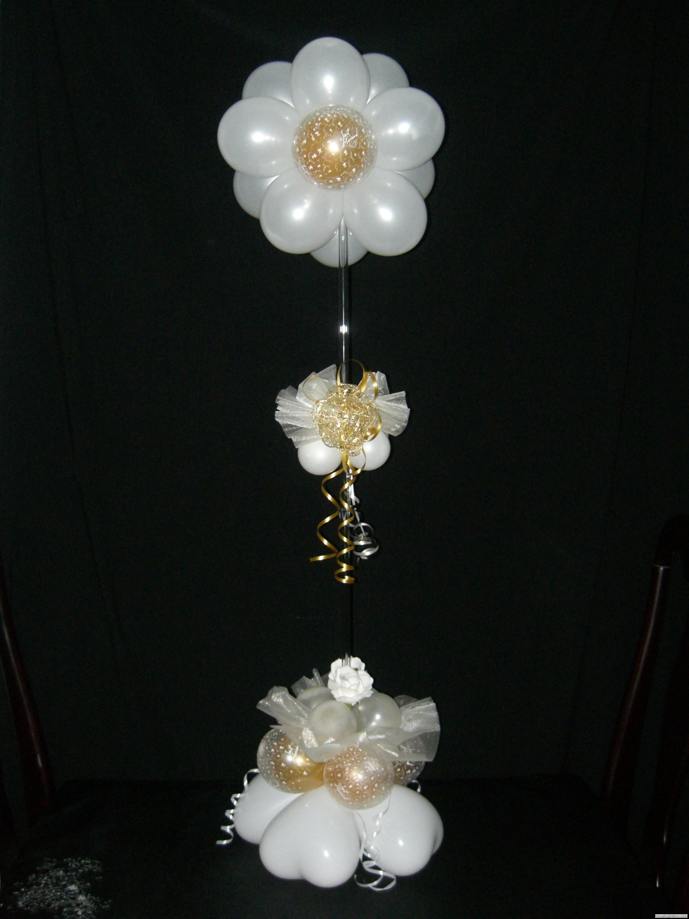 Table Top Balloon Decorations